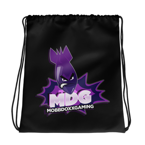 Mobbdoxxgaming Logo Drawstring Bag