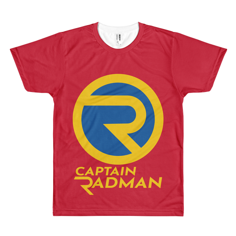 Captain Radman All Over Tee