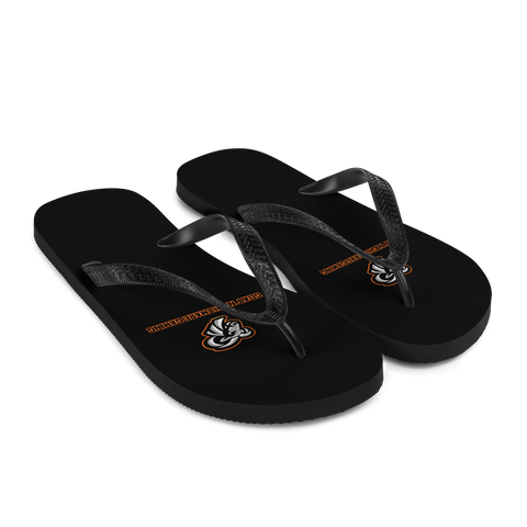 Goat Nightmare Gaming Logo Flip-Flops