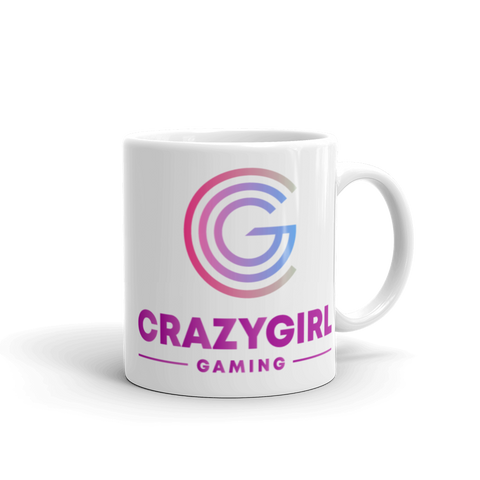 Crazy Girl Gaming Mug