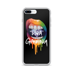 Diva Gayming Lips iPhone Case