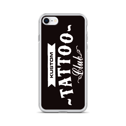 KUSTOM TATTOO CLUB iPhone Case