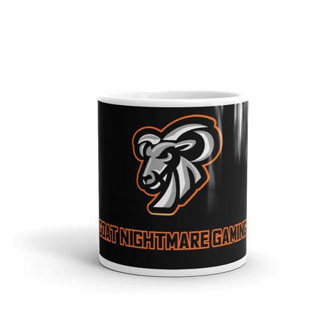 Goat Nightmare Gaming Logo Mug