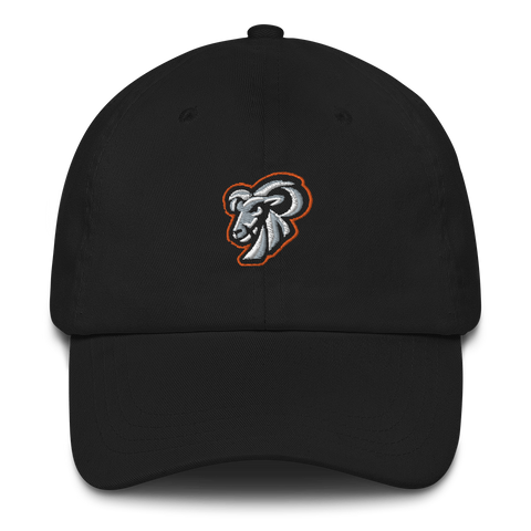 Goat Nightmare Gaming Logo Dad Hat