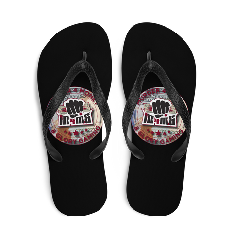 Murder 4 Money & Glory Gaming Flip-Flops