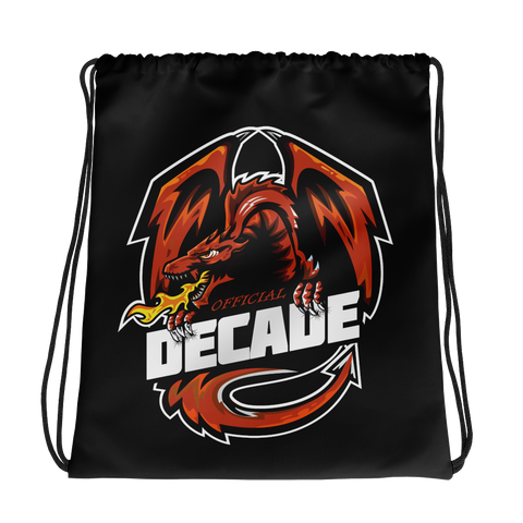 Decade Drawstring Bag