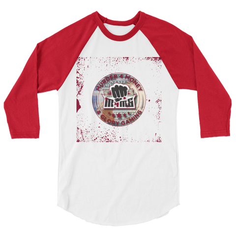 Murder 4 Money & Glory Gaming Baseball Tee