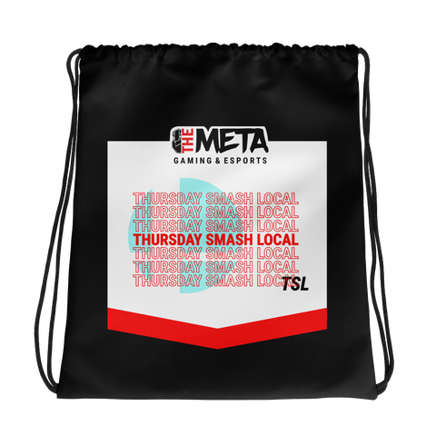 The Meta Thursday Smash Drawstring Bag