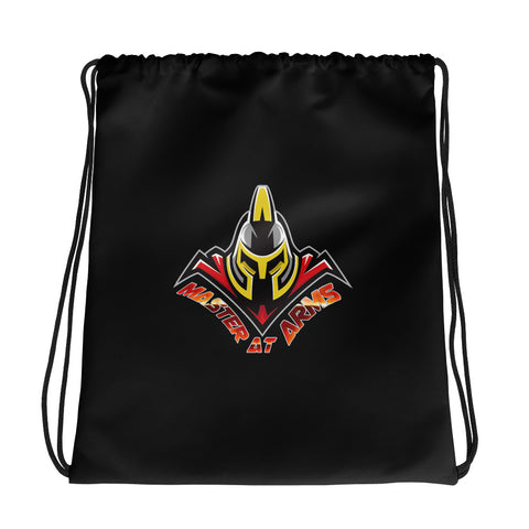 Master At Arms Logo Drawstring Bag