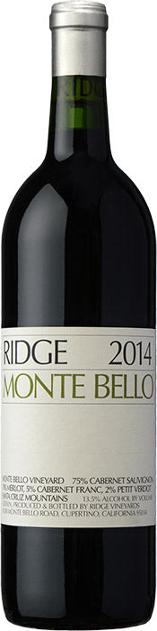 Ridge Vineyards Monte Bello California 2014