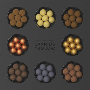 Lakrids by Bulow - chocolate coated artisan liquorice - Free shipping when you spend just £20