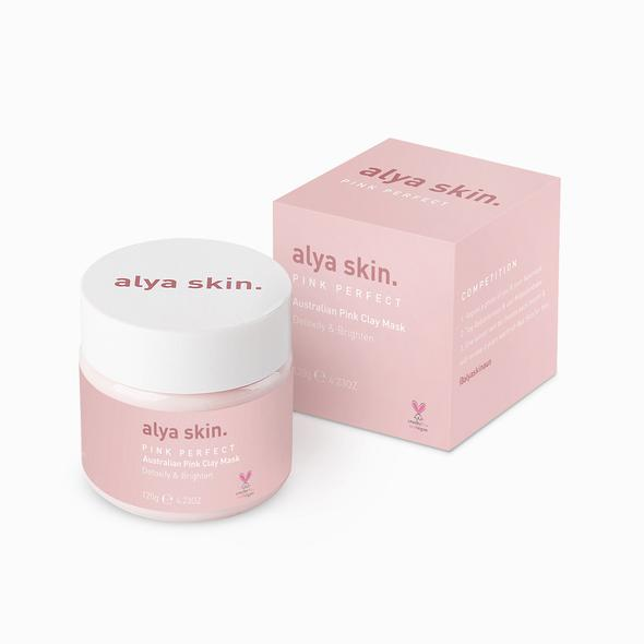 Alya Skin Pink Clay Mask (120g) - Something Cute