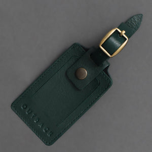 Hand-Made Classic Retro Genuine Leather Luggage Tag