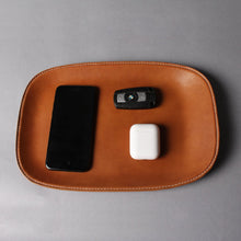 Load image into Gallery viewer, Hand-Crafted Genuine Leather Stash Tray