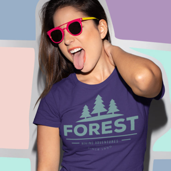 Ringspun Cotton Women's Forest Trend Tee