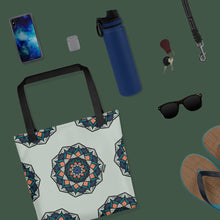 Load image into Gallery viewer, Trendy Chakra Weather Resistant Tote Bag