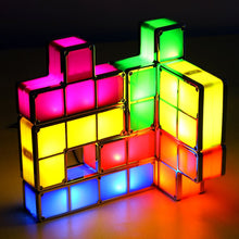Load image into Gallery viewer, Chromatherapy STEM LED Desk Lamp Puzzle