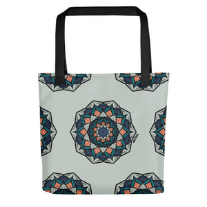 Trendy Chakra Weather Resistant Tote Bag