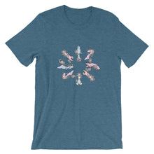 Load image into Gallery viewer, Meditating Unicorns Short Sleeve Ultra-Soft Jersey Tee