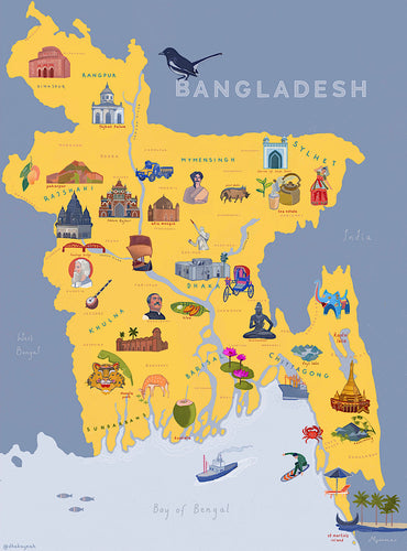 Land of Golden Bengal