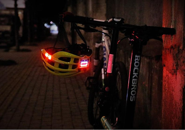 light for bicycle helmet