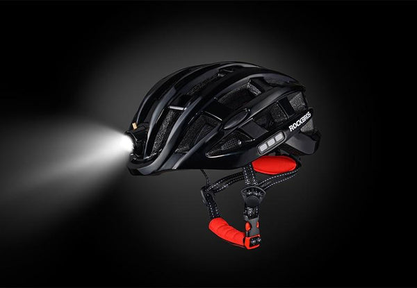 bike helmet mounted light