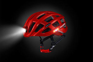 helmet mounted bike light