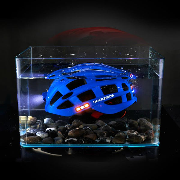 light for cycling helmet