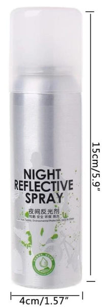 reflective spray paint clear