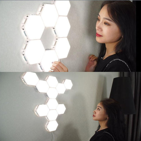hexagon lamp
