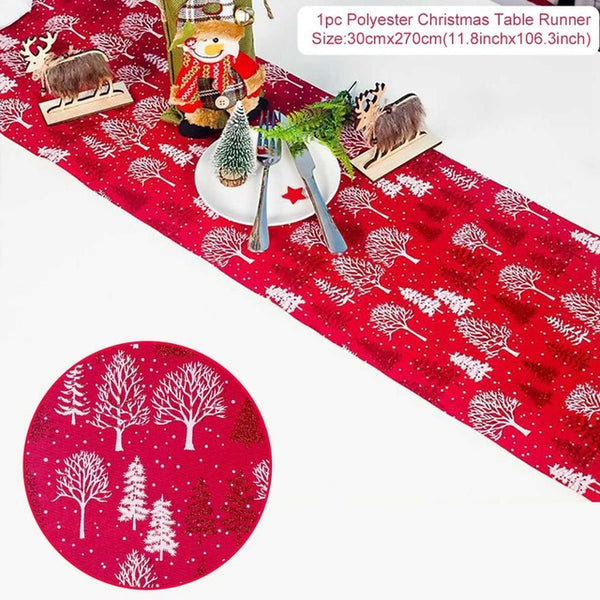 2020 Christmas - Table Runner, Decorations, Ornaments