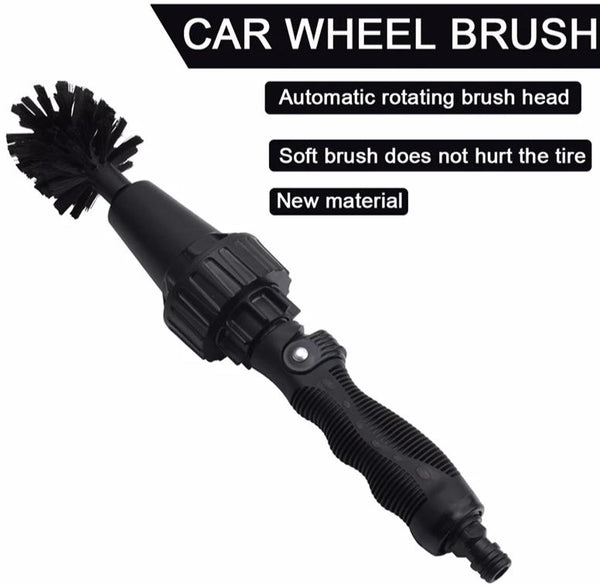brush for cleaning car wheels