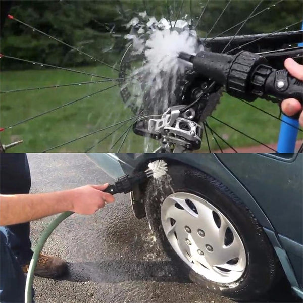 car cleaning wheel brush
