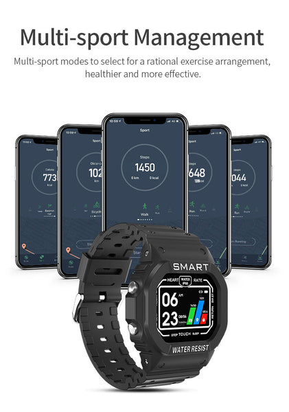 smartwatch with heart rate monitor android