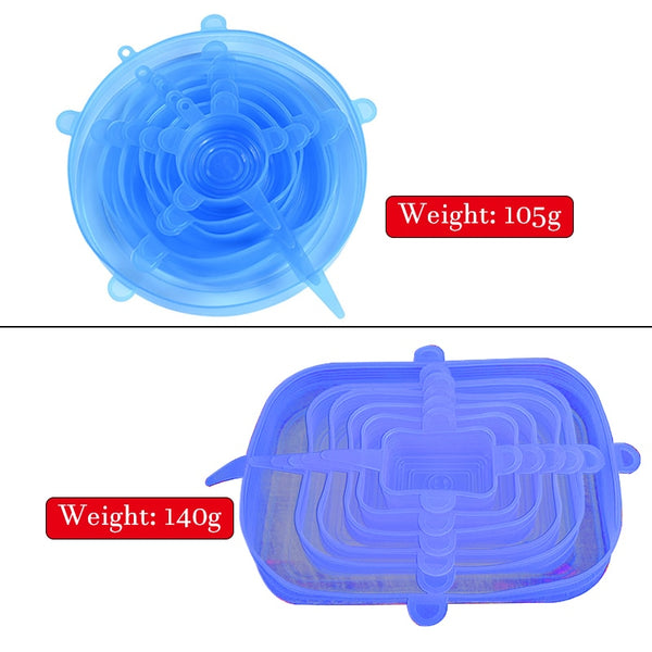 large silicone stretch lid