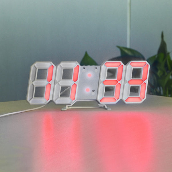digital wall clock with battery