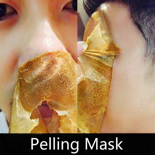 gold peel off face mask