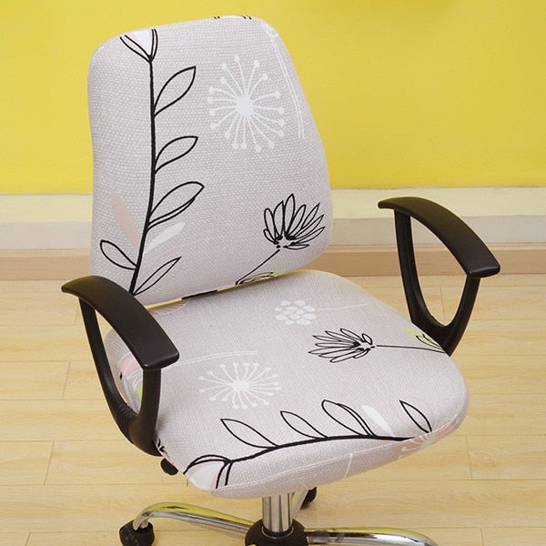 chair cover with arms