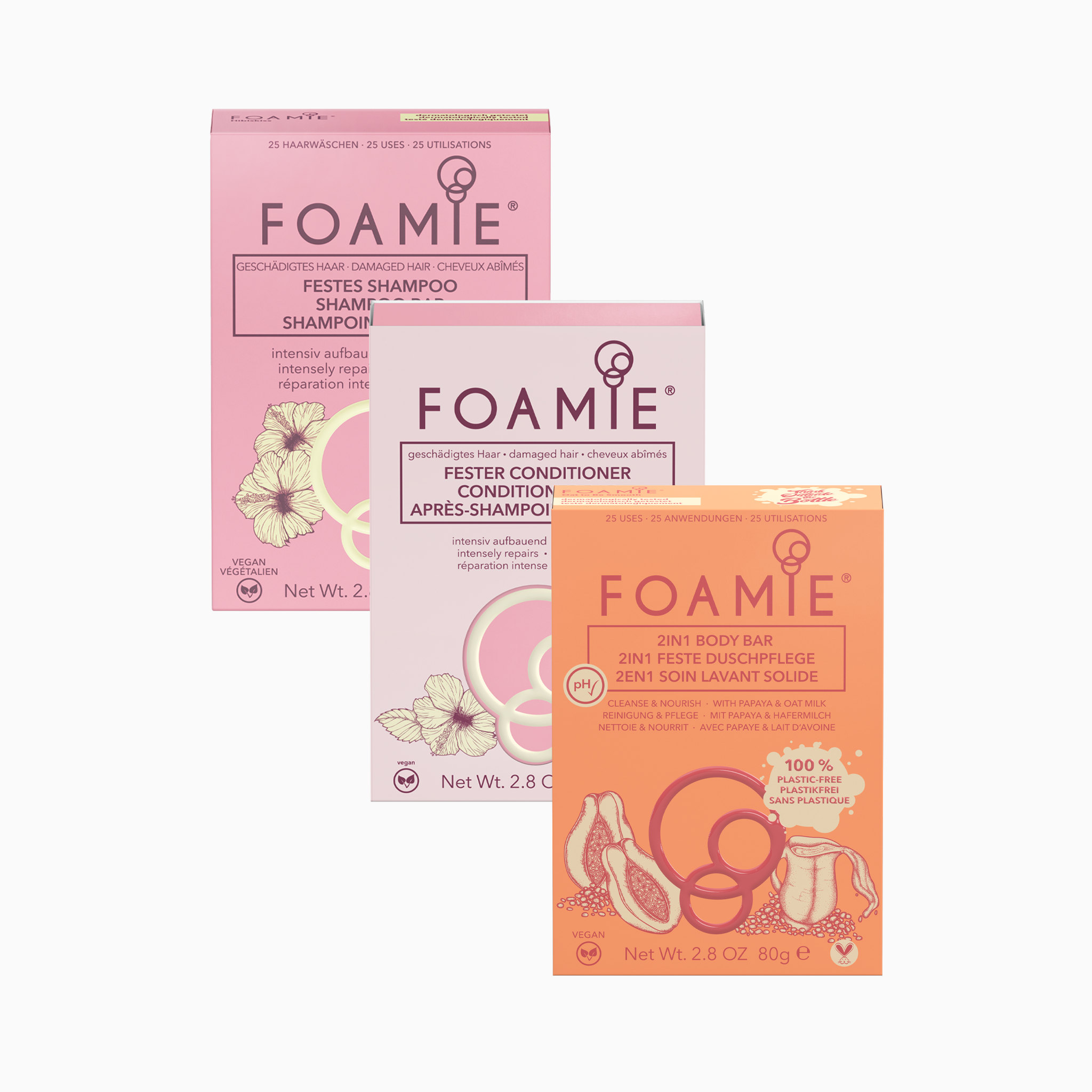 Foamie Hair & Body - Hibiskiss and Oat