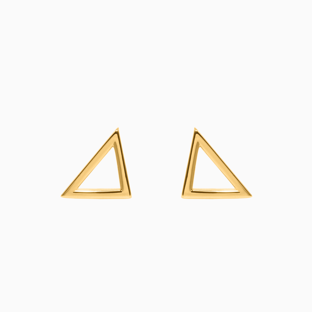 Ohrstecker TRIANGLE gold