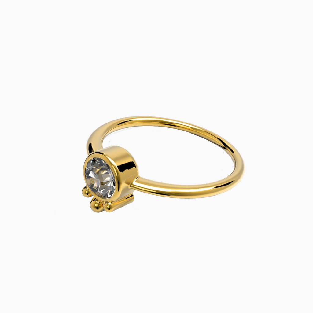 Ring LUNA gold
