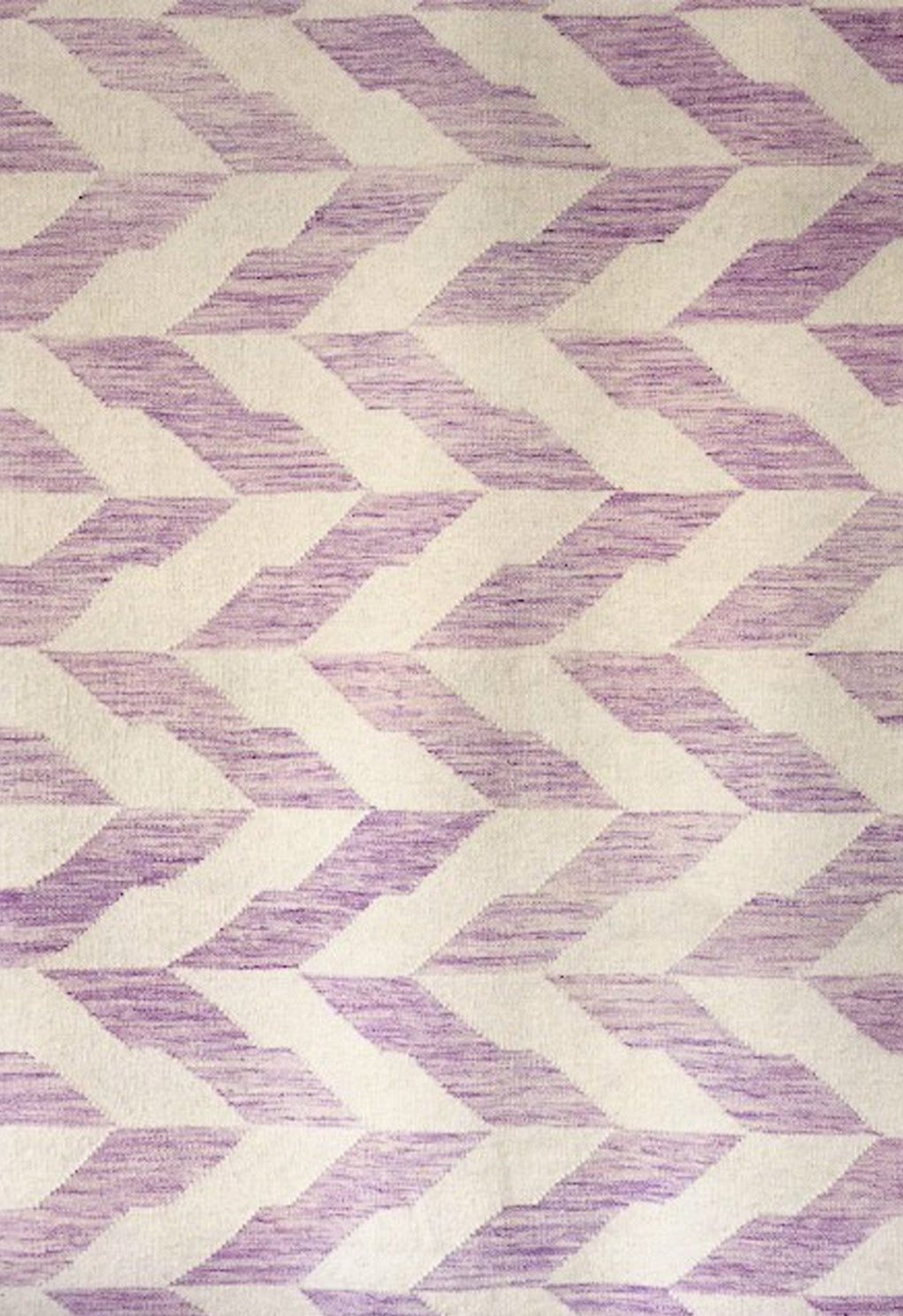 purple contemporary rug close up