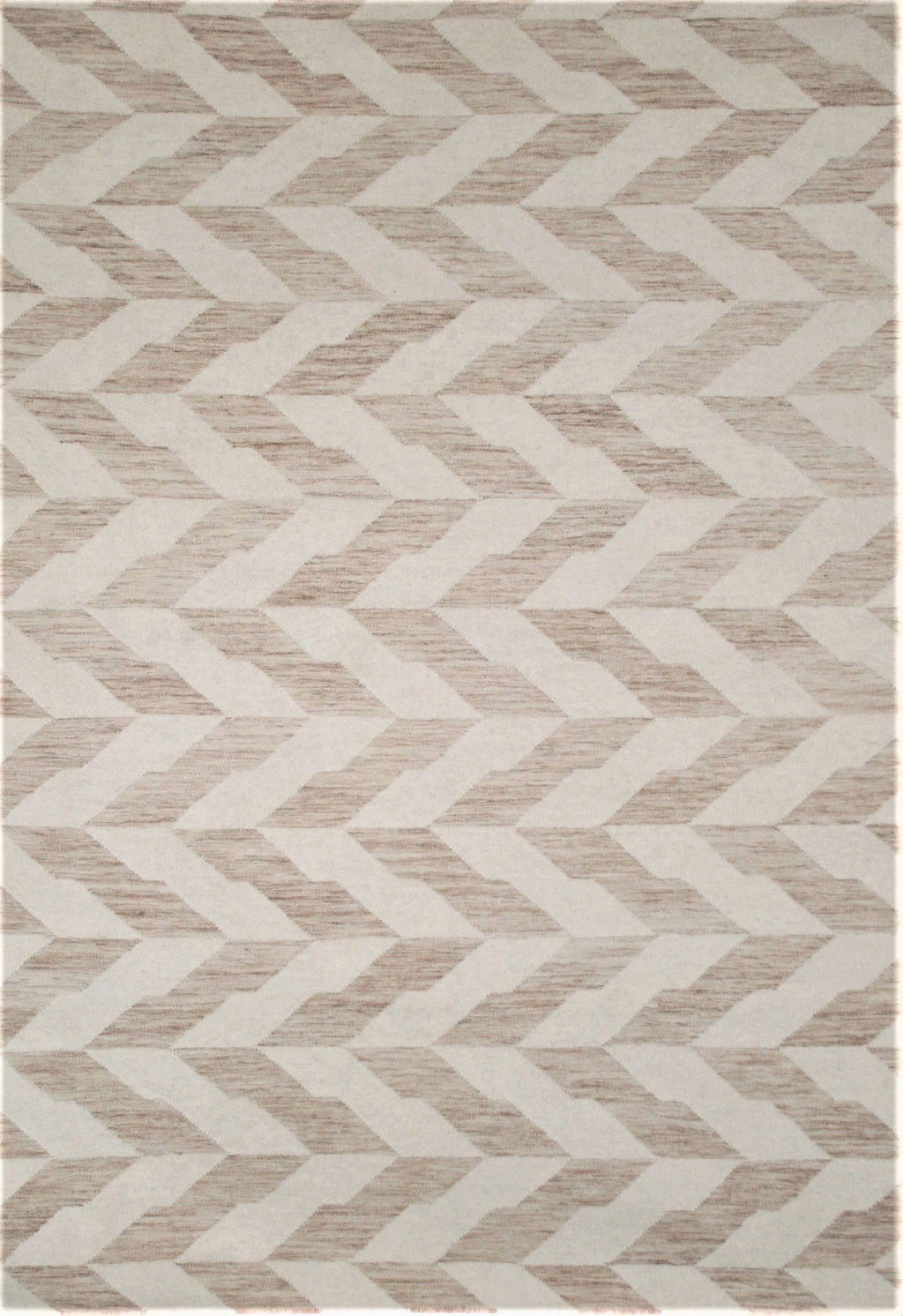 neutral geometric rug