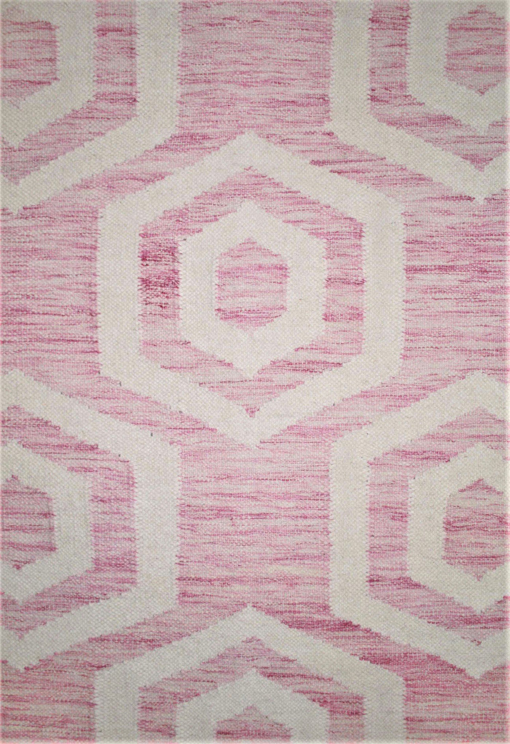 contemporary pink rug