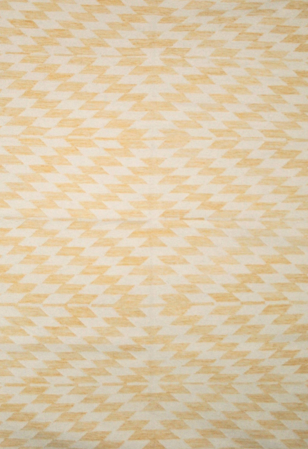 geometric rug yellow design