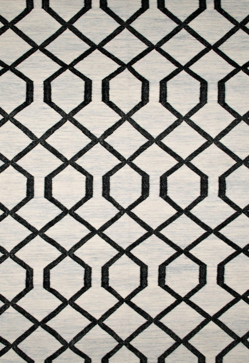 modern geometric design with black pattern