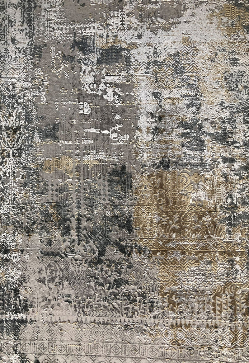 luxury rug close up bamboo silk pile