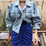 Load image into Gallery viewer, Pre-Order Hailey Denim Jacket