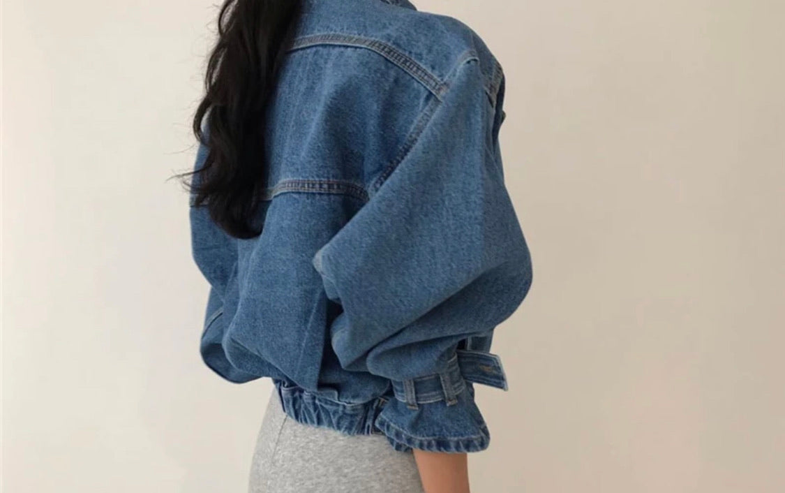 Pre-Order Hailey Denim Jacket