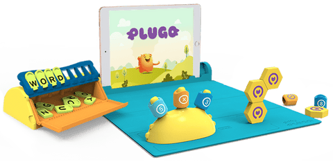 Plugo STEM Wiz Pack - Count, Link and Letters (PO)